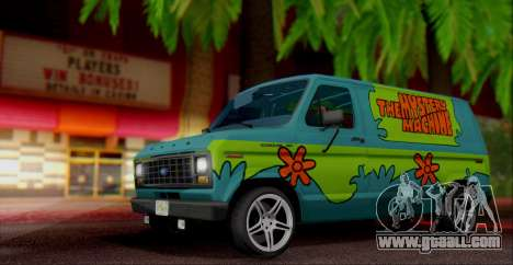 Ford E-150 Scooby Doo for GTA San Andreas