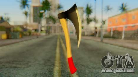 Axe for GTA San Andreas