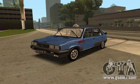 Renault 11 TXE Taxi for GTA San Andreas wheels