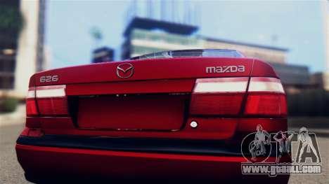 Mazda 626 for GTA San Andreas right view