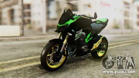 Kawasaki Z800 Modified for GTA San Andreas