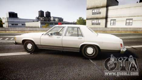 Ford LTD Crown Victoria 1987 Detective [ELS] for GTA 4 left view