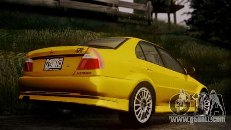 Mitsubishi Lancer Evolution VI 1999 PJ for GTA San Andreas left view