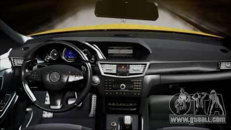 Mercedes-Benz E63 for GTA San Andreas right view