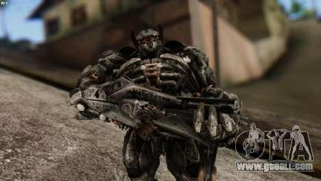 Shockwave Skin from Transformers v2 for GTA San Andreas
