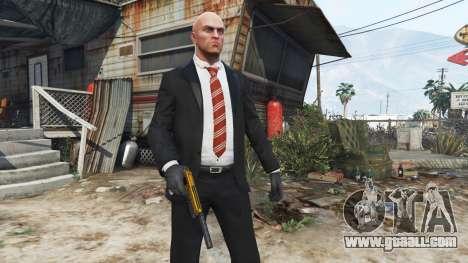 GTA 5 Hitman - Agent 47