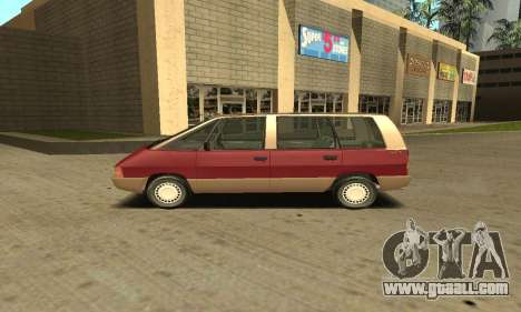 Renault Espace 2000 GTS for GTA San Andreas left view