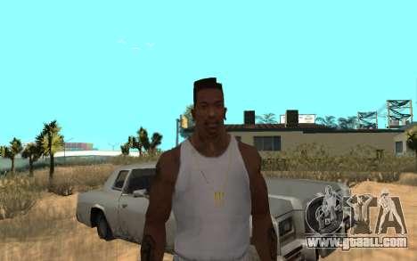 Цепь Monster Energy for GTA San Andreas