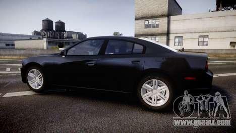 Dodge Charger SWAT Tactical Unit [ELS] rbl for GTA 4 left view