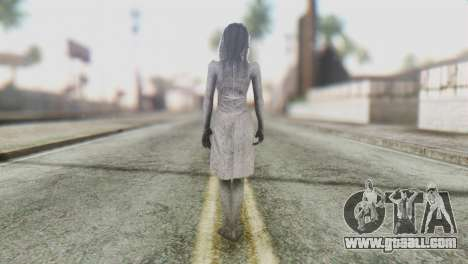 Kayako Skin for GTA San Andreas third screenshot