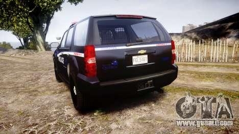 Chevrolet Tahoe SPVQ [ELS] for GTA 4 back left view