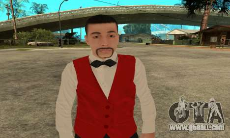 Casino Skin for GTA San Andreas