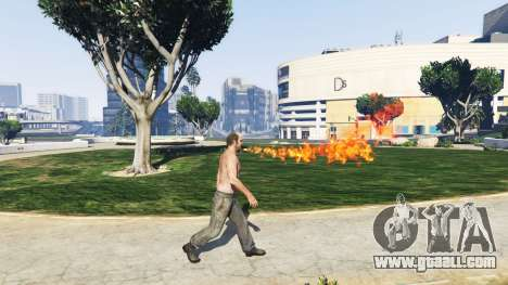 GTA 5 Fire-breathing v2.0 second screenshot
