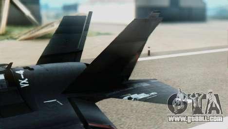 F-35B Polish Air Force 1. ELT for GTA San Andreas back left view