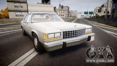 Ford LTD Crown Victoria 1987 Detective [ELS] v2 for GTA 4