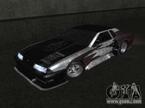 Elegy Paintjobs for GTA San Andreas side view