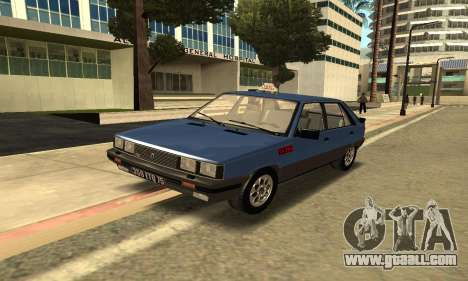 Renault 11 TXE Taxi for GTA San Andreas left view