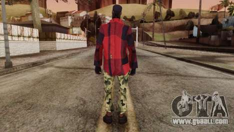 New Homeless Skin for GTA San Andreas second screenshot