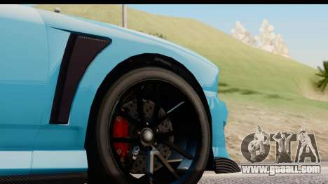 GTA 5 Bravado Buffalo S Sprunk IVF for GTA San Andreas back view