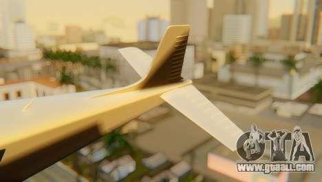 GTA 5 Dodo v1 for GTA San Andreas back left view