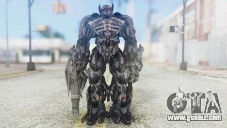 Shockwave Skin from Transformers v2 for GTA San Andreas second screenshot