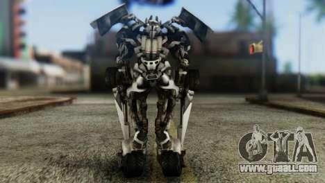 Sideswipe Skin from Transformers v1 for GTA San Andreas third screenshot