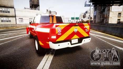 Dodge Ram 3500 2013 Utility [ELS] for GTA 4 back left view