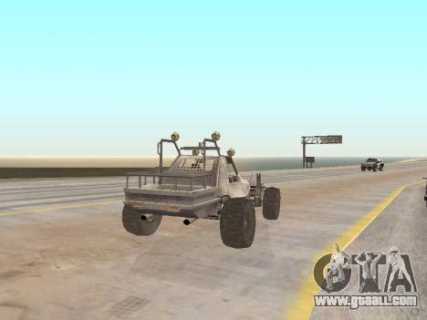 Buggy from Just Cause for GTA San Andreas back left view