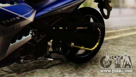 Yamaha MX KING 150 for GTA San Andreas back view