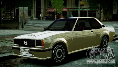 Opel Ascona B for GTA 4 right view