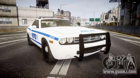 Dodge Challenger NYPD [ELS] for GTA 4