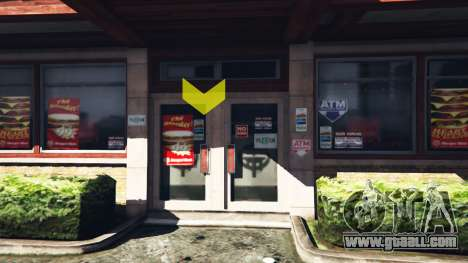 Working restaurants v1.0.2 for GTA 5