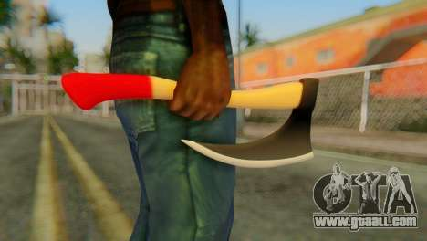 Axe for GTA San Andreas third screenshot