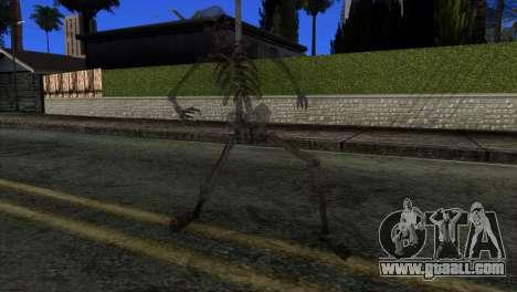 Skeleton Skin v3 for GTA San Andreas