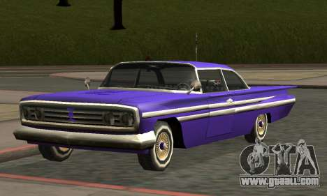 Luni Voodoo Remastered for GTA San Andreas