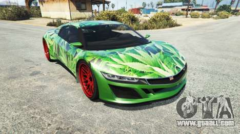 Dinka Jester (Racecar) Cannabis for GTA 5