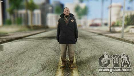 Snowcop Skin from GTA 5 for GTA San Andreas