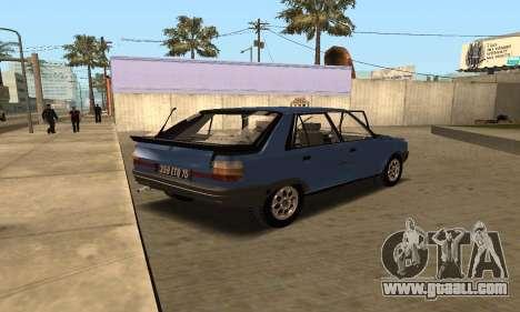 Renault 11 TXE Taxi for GTA San Andreas
