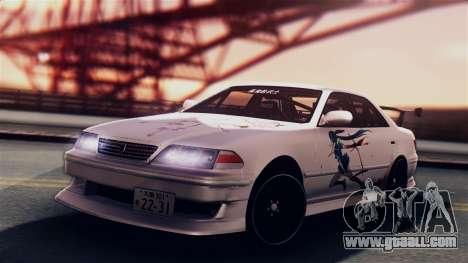 Toyota Mark 2 100 for GTA San Andreas