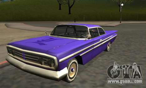 Luni Voodoo Remastered for GTA San Andreas wheels