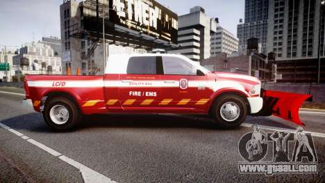 Dodge Ram 3500 2013 Utility [ELS] for GTA 4 left view