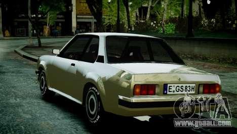 Opel Ascona B for GTA 4 back left view