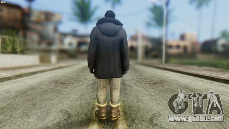 Snowcop Skin from GTA 5 for GTA San Andreas second screenshot
