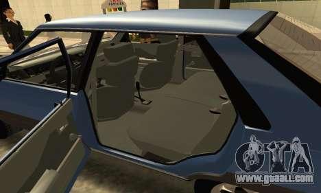 Renault 11 TXE Taxi for GTA San Andreas upper view