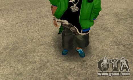 Groove St. Nigga Skin Second for GTA San Andreas second screenshot