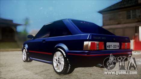 Ford Escort for GTA San Andreas back left view