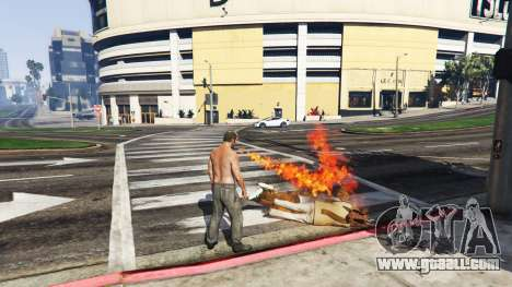 GTA 5 Fire-breathing v2.0 third screenshot