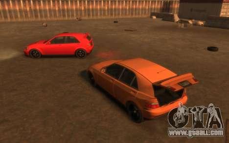 Karin Sultan Hatchback v2 for GTA 4 upper view