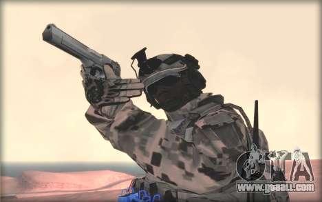 BF3 Soldier for GTA San Andreas third screenshot