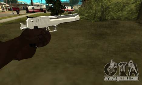 Metalic Deagle for GTA San Andreas second screenshot